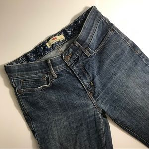 Levi's Perfect Waist 525 Straight Leg Size 8